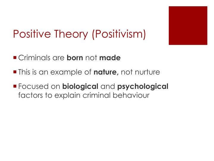 positivism examples