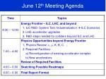 june 12 th meeting agenda