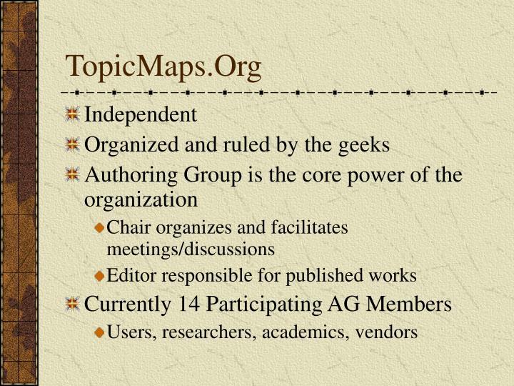 Topicmaps org