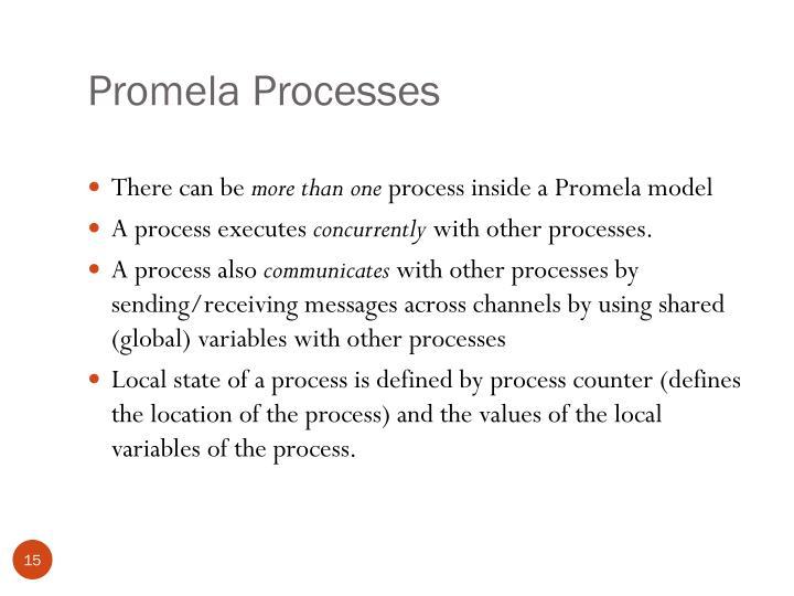Promela Processes