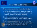 planned activities1