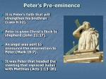peter s pre eminence1