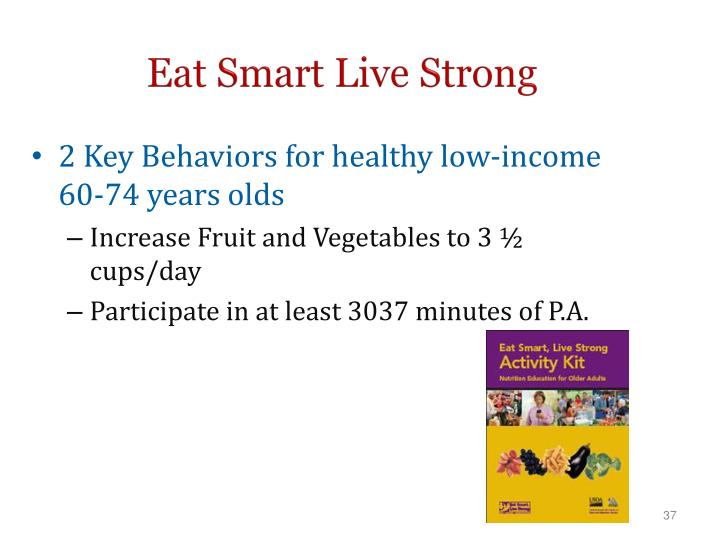Eat Smart Live Strong