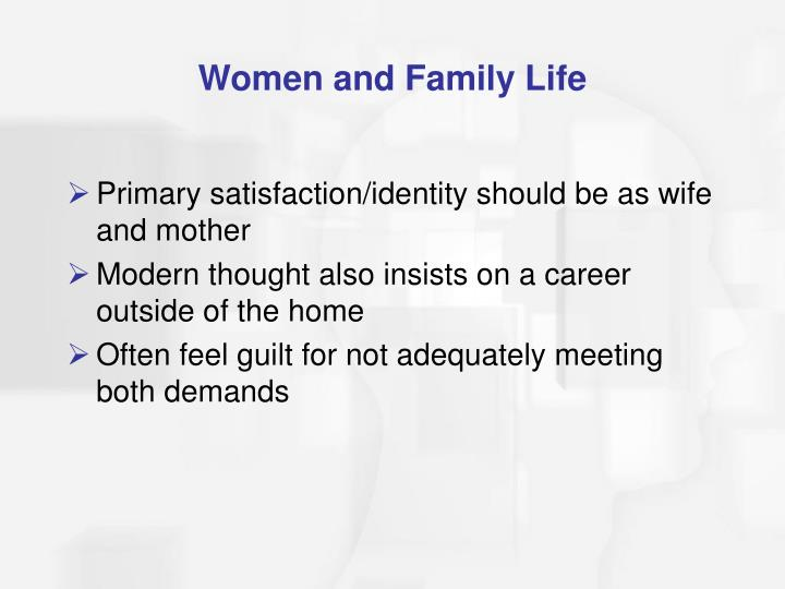 Women and Family Life