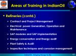 areas of training in indianoil1