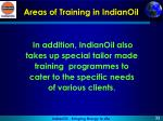 areas of training in indianoil4