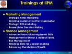 trainings at iipm1
