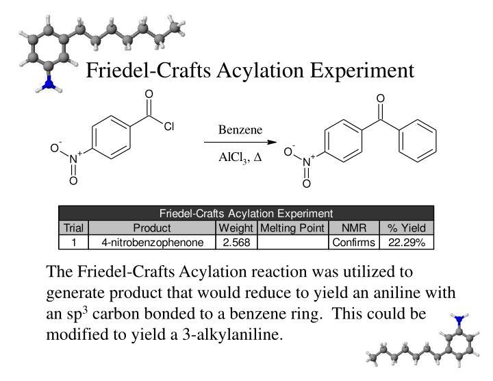 Friedel-Crafts Acylation Experiment