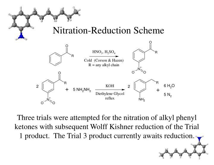 Nitration-Reduction Scheme