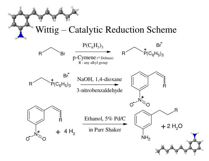 Wittig – Catalytic Reduction Scheme