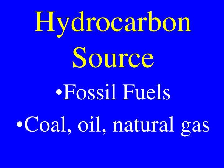 Hydrocarbon Source