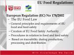 eu food regulations