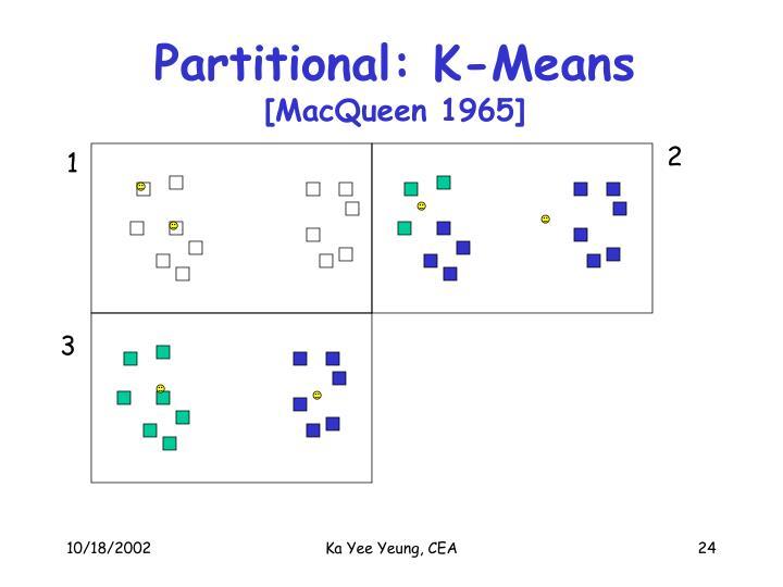 Partitional: K-Means