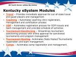 kentucky esystem modules