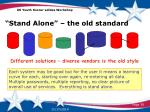 stand alone the old standard