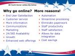 why go online more reasons