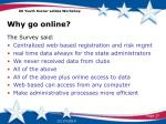 why go online