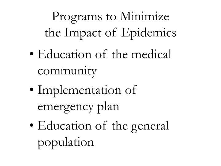 Programs to Minimize