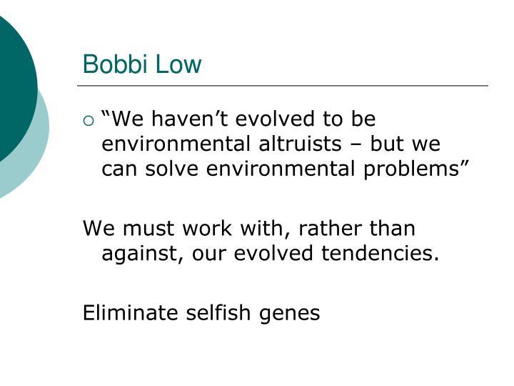 Bobbi Low