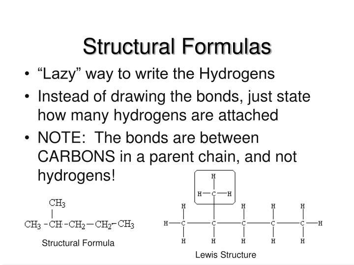 Structural Formulas