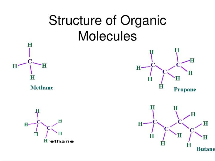 Structure of Organic Molecules