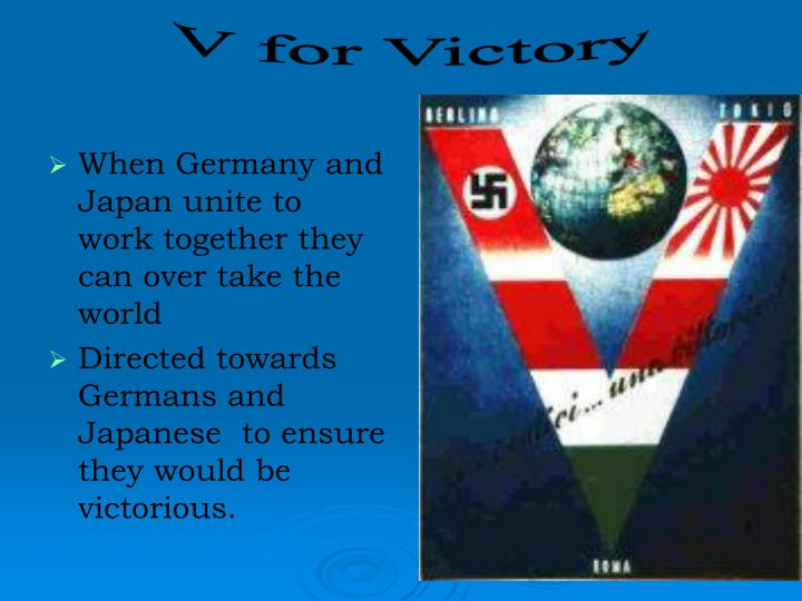 When Germany and Japan unite to work together they can over take the world