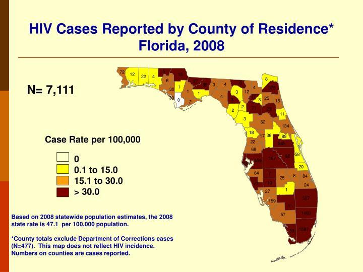 Case Rate per 100,000