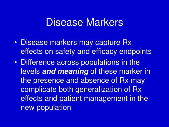 Disease Markers