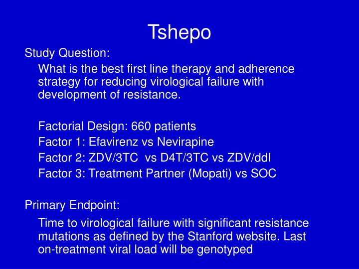 Tshepo
