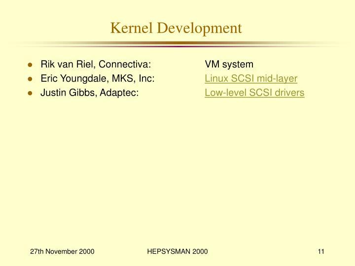 Kernel Development