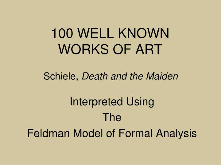 100 well known works of art