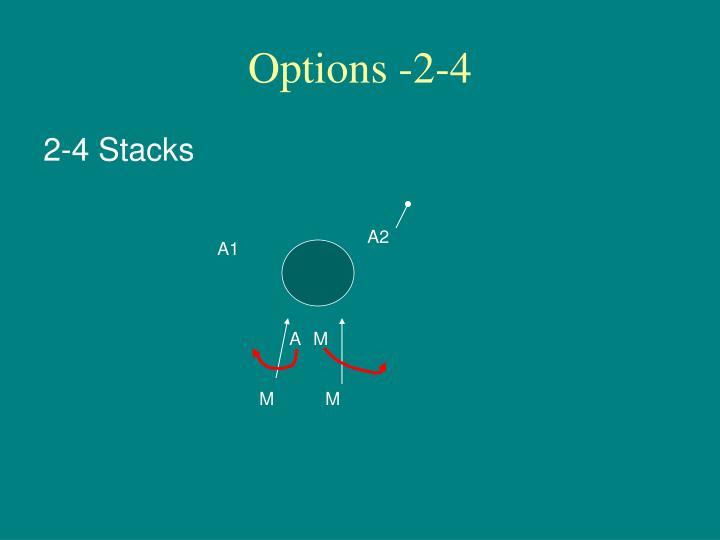 Options -2-4