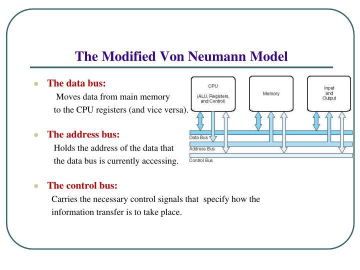 The Modified Von Neumann Model