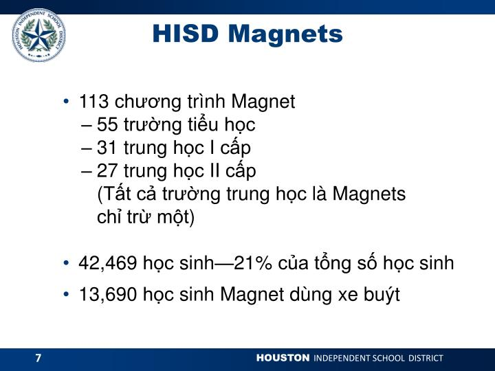 HISD Magnets