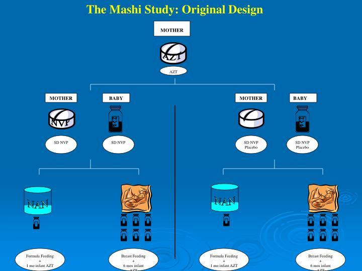 The Mashi Study: Original Design