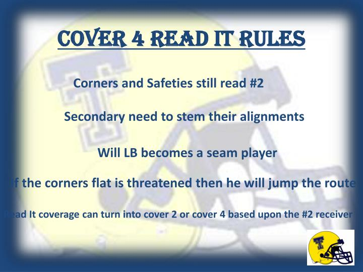 Cover 4 Read it Rules