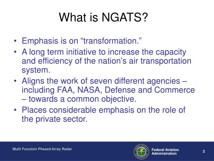 What is ngats