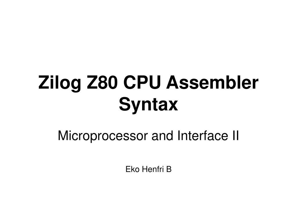 Jacksoft z80 assembler v1. 1 (1986)(hans georg zezschwitz)[a.