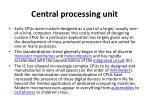 central processing unit1