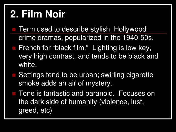 2. Film Noir