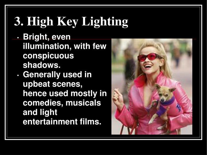 3. High Key Lighting