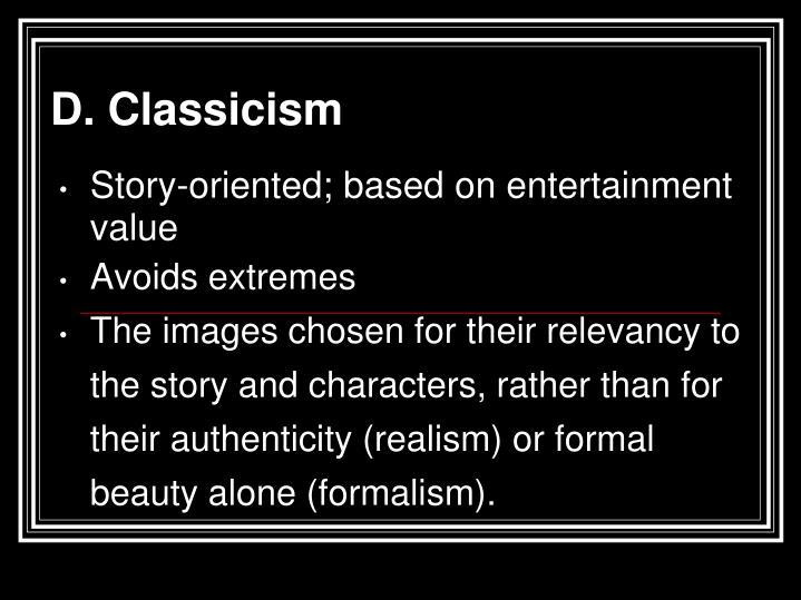 D. Classicism