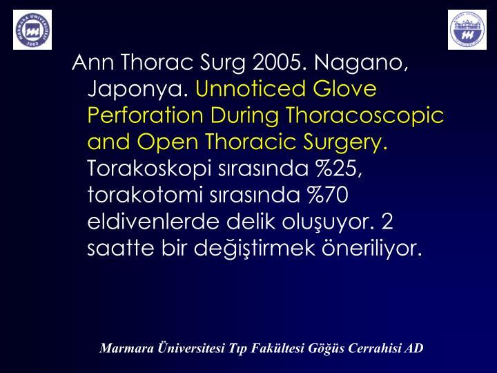 Ann Thorac Surg 2005