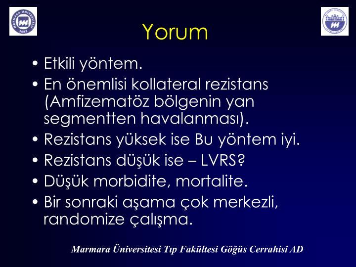Yorum