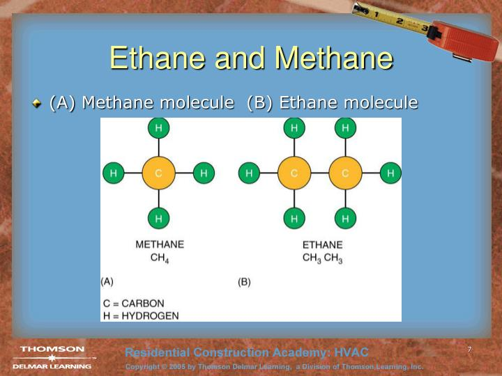 Ethane and Methane