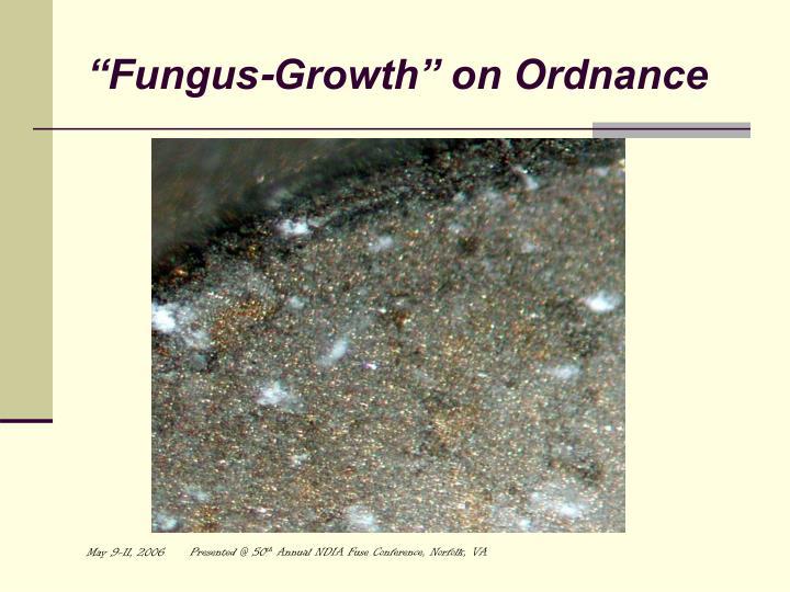 """Fungus-Growth"" on Ordnance"