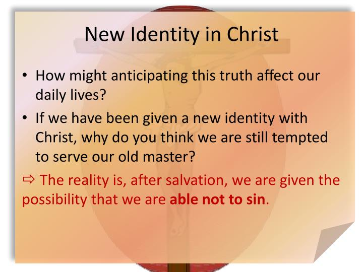 New Identity in Christ