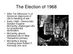 the election of 1968
