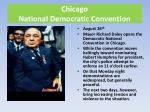 chicago national democratic convention