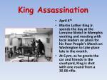 king assassination
